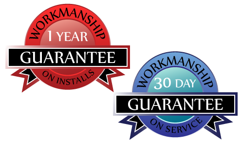 Workmanship guarantee on hvac service and installs in and around Oshkosh, WI