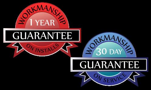 Workmanship guarantee on hvac service and installs in and around Oshkosh, WI